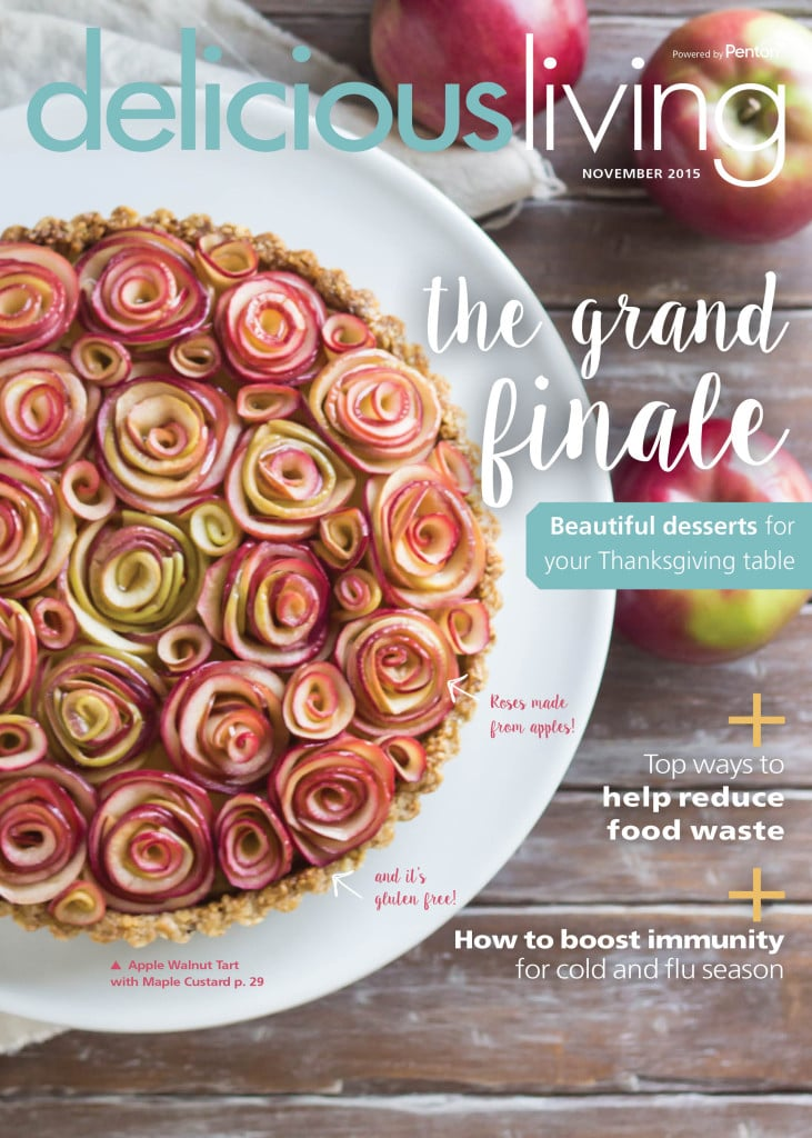 3-Pie Feature on @deliciousliving