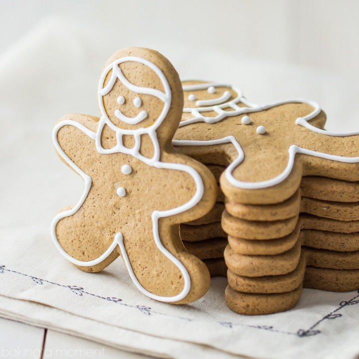 Gingerbread Cookies That Don T Spread In The Oven Baking A Moment