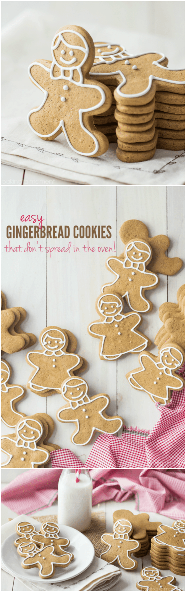 The Best Gingerbread Cookie Recipe Ive Ever Tried These Kept Their Neat Edges