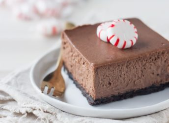 I made these Chocolate Peppermint Cheesecake Bars for Christmas and they were a huge hit! The cheesecake is so chocolate-y and creamy, and I loved that cool hit of peppermint!