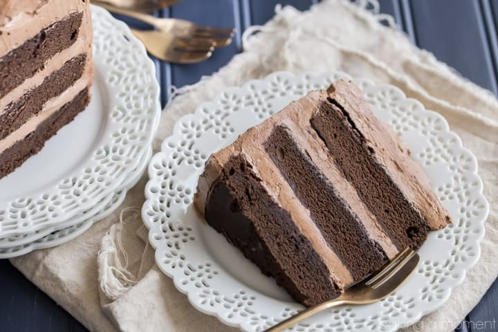 One-Bowl Chocolate Cake from Scratch