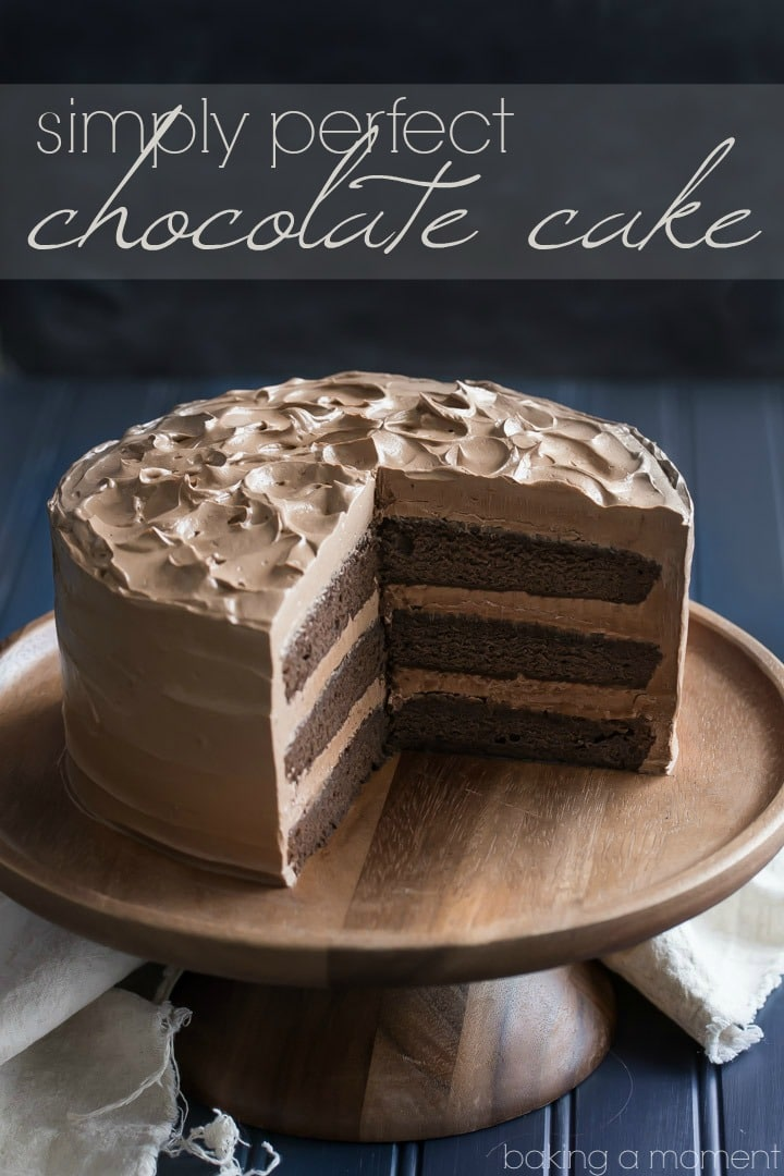 Easy Homemade Chocolate Cake Recipe