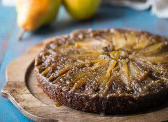 Pear Gingerbread Upside Down Cake- oh my! So many gorgeous flavors going on here. I really loved the way the sweet, brown-sugary pears balanced out the spiciness of the gingerbread. A winner of a winter dessert, for sure! @southernliving