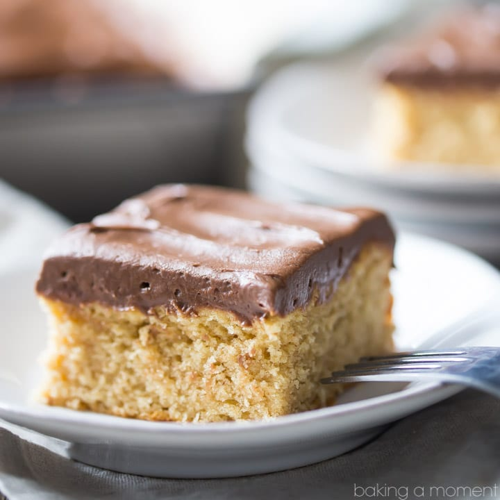 My family LOVED this peanut butter cake! The fudge-y milk chocolate frosting was so good too. All so simple to make, the recipe is practically foolproof. food desserts cake