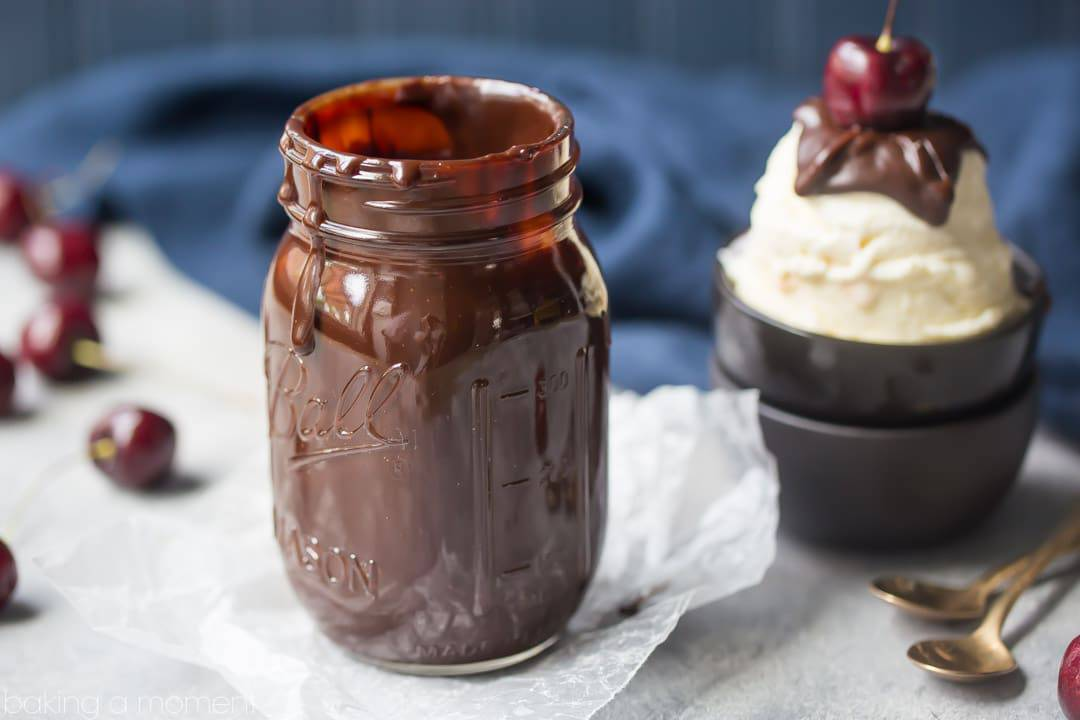 Hot Fudge Sauce: so thick, rich and velvety!  I could not believe how easy it was to make this incredible ice cream topping!  food desserts chocolate