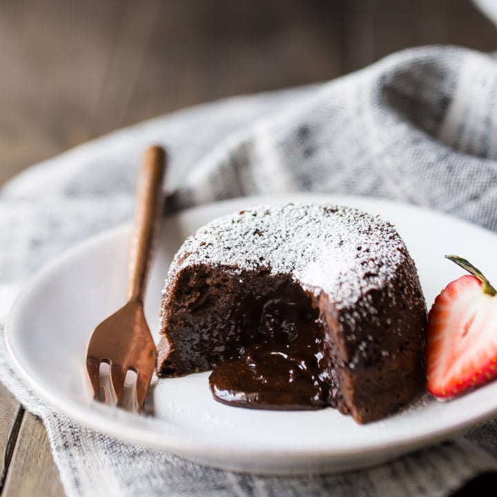 Chocolate Molten Lava Cakes So Rich Amp Decadent Baking A