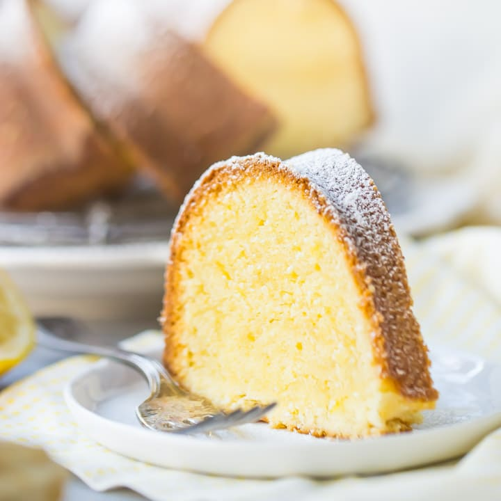 Lemon Pound Cake Recipe So Moist Amp The Lemony Est Ever