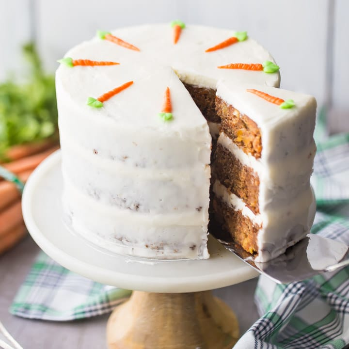 carrot cake and cream cheese