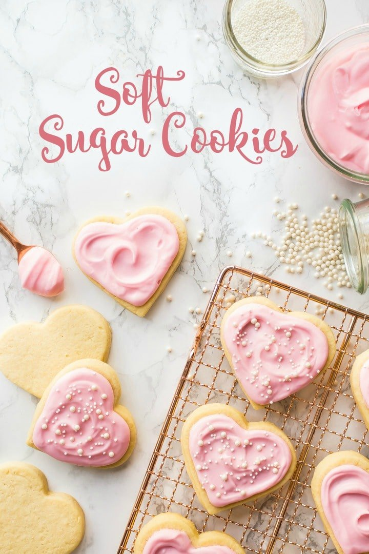 Soft Cut Out Sugar Cookies Easy No Chilling No Mess