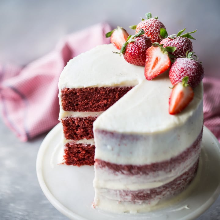 How To Make Red Velvet Cake At Home