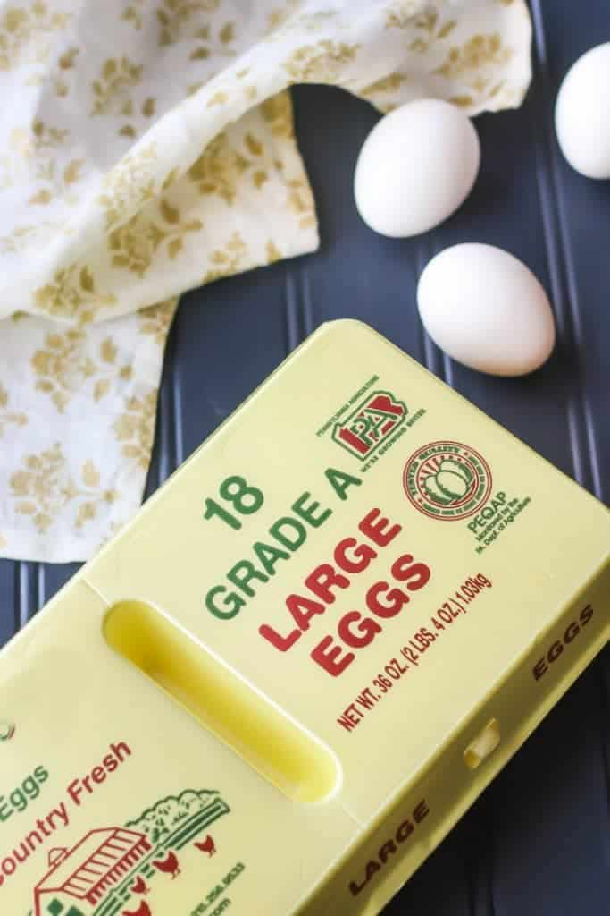 Large eggs- what size eggs to use for baking.