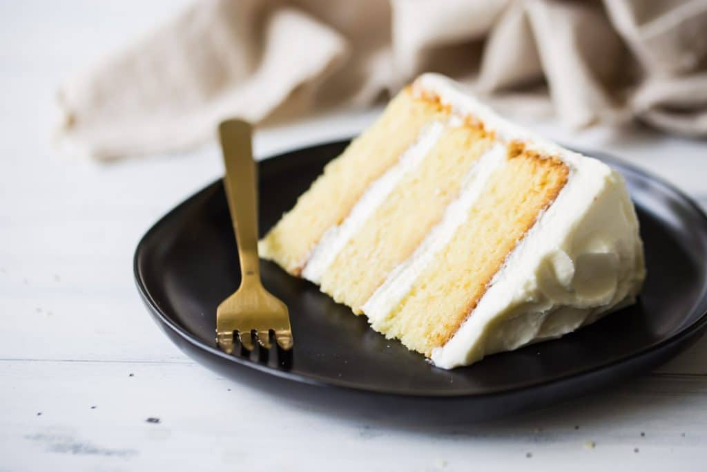 Moist Homemade Vanilla Cake