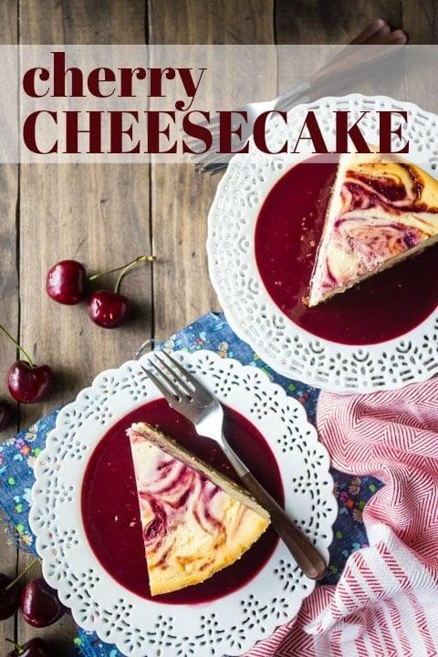New York Cherry Cheesecake Recipe