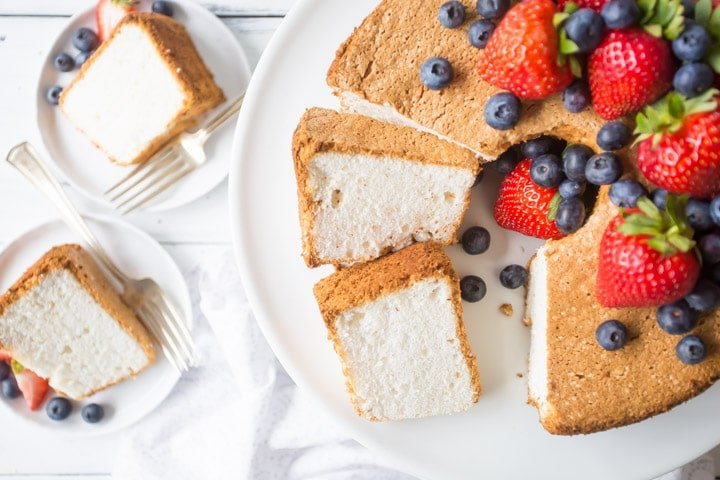 Old Fashioned Angel Food Cake Recipe Homemade From Scratch