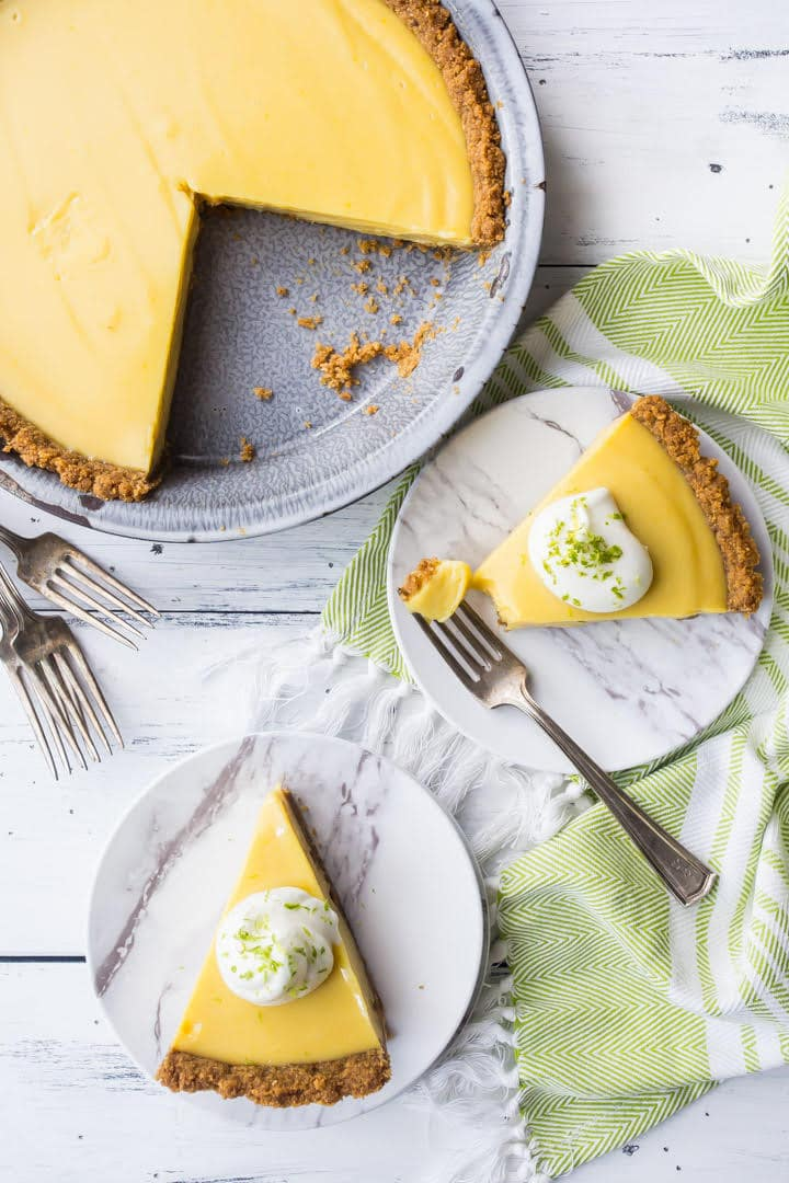 Best ever homemade key lime pie recipe