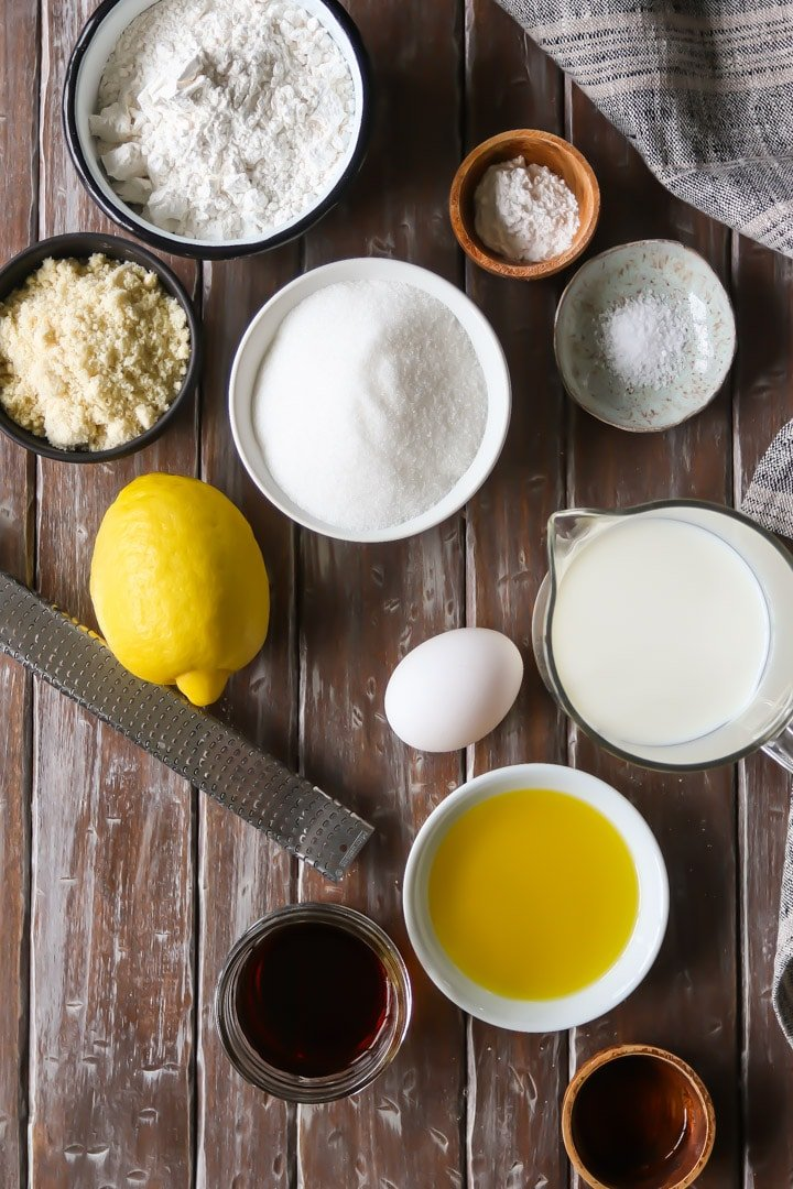 Olive Oil Cake Ingredients