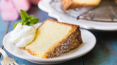 Old-Fashioned Pound Cake Recipe