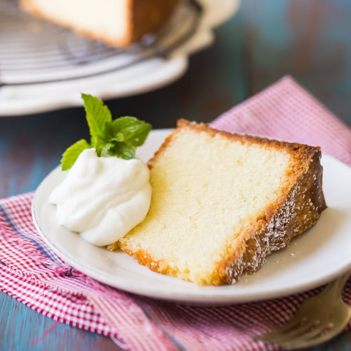 Best Recipe For Moist Pound Cake