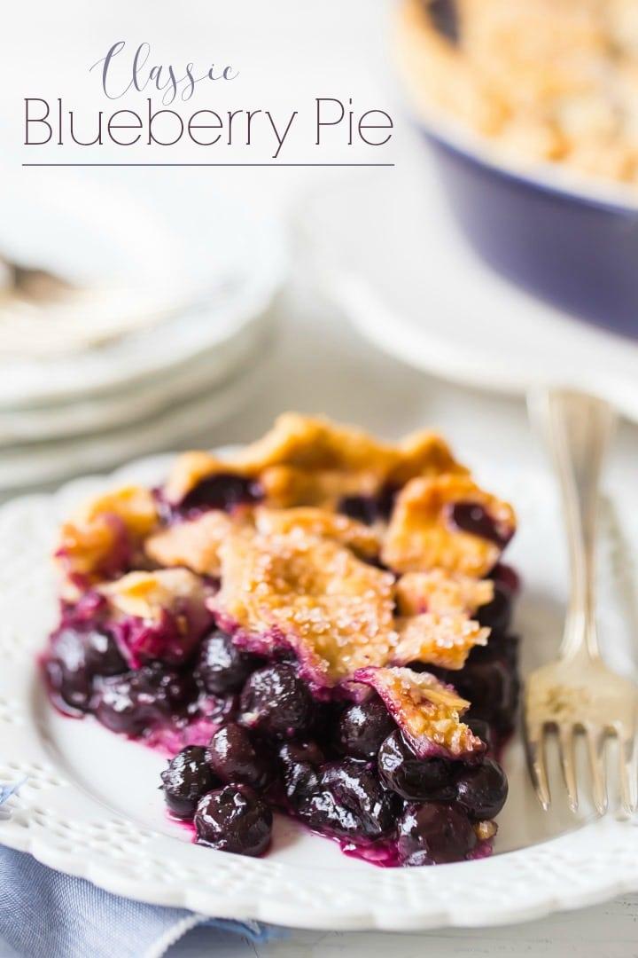 Classic Blueberry Pie Recipe