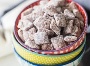 Muddy Buddies Puppy Chow Chocolate Peanut Butter Cereal Mix