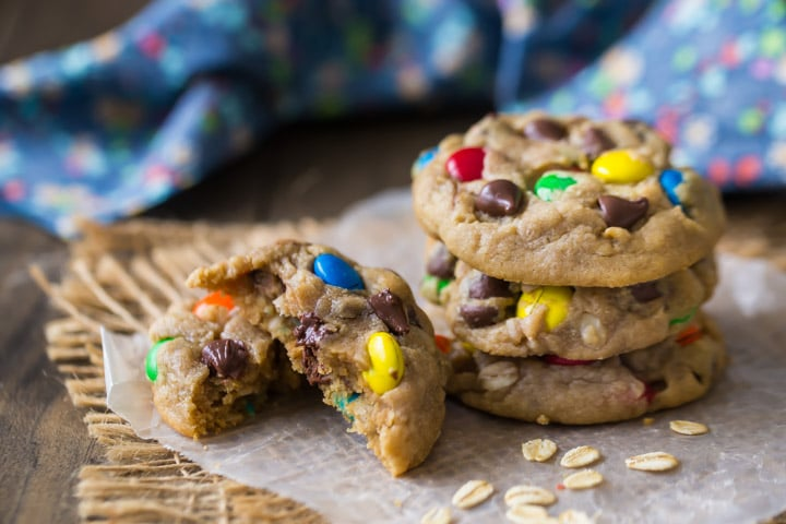 Soft Monster Cookie Recipe