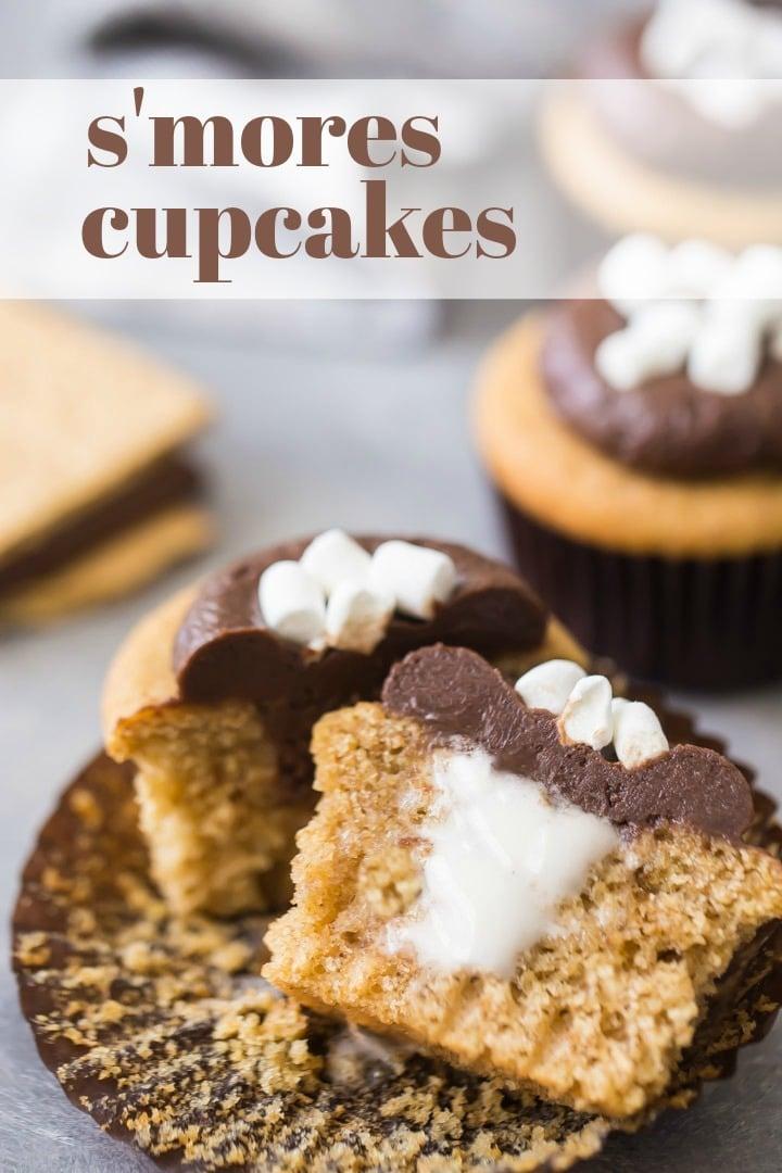 Moist S'mores Cupcake Recipe