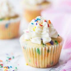Homemade Funfetti Cupcakes Recipe