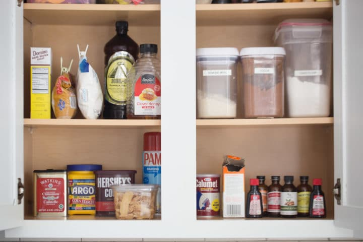Pantry Basics for Baking