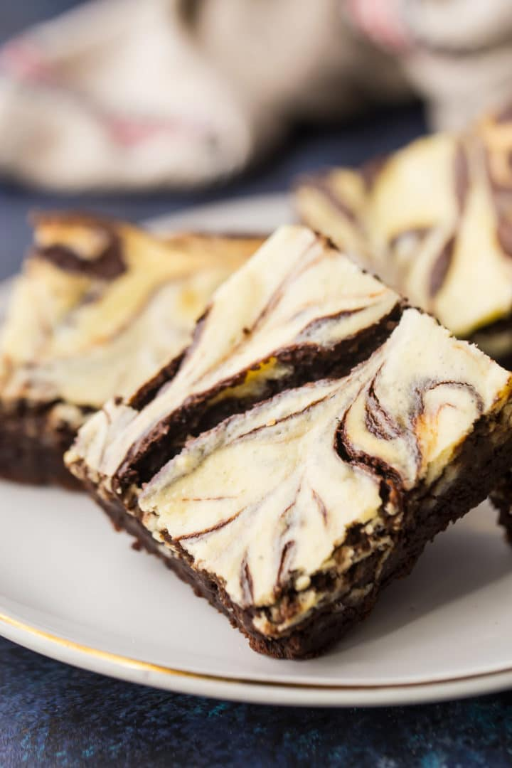 Marbled Cream Cheese Brownies