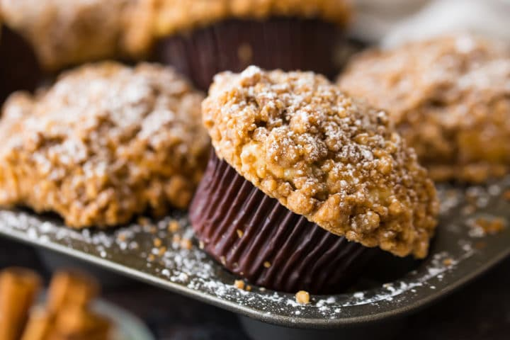 New York Crumb Cake Muffins