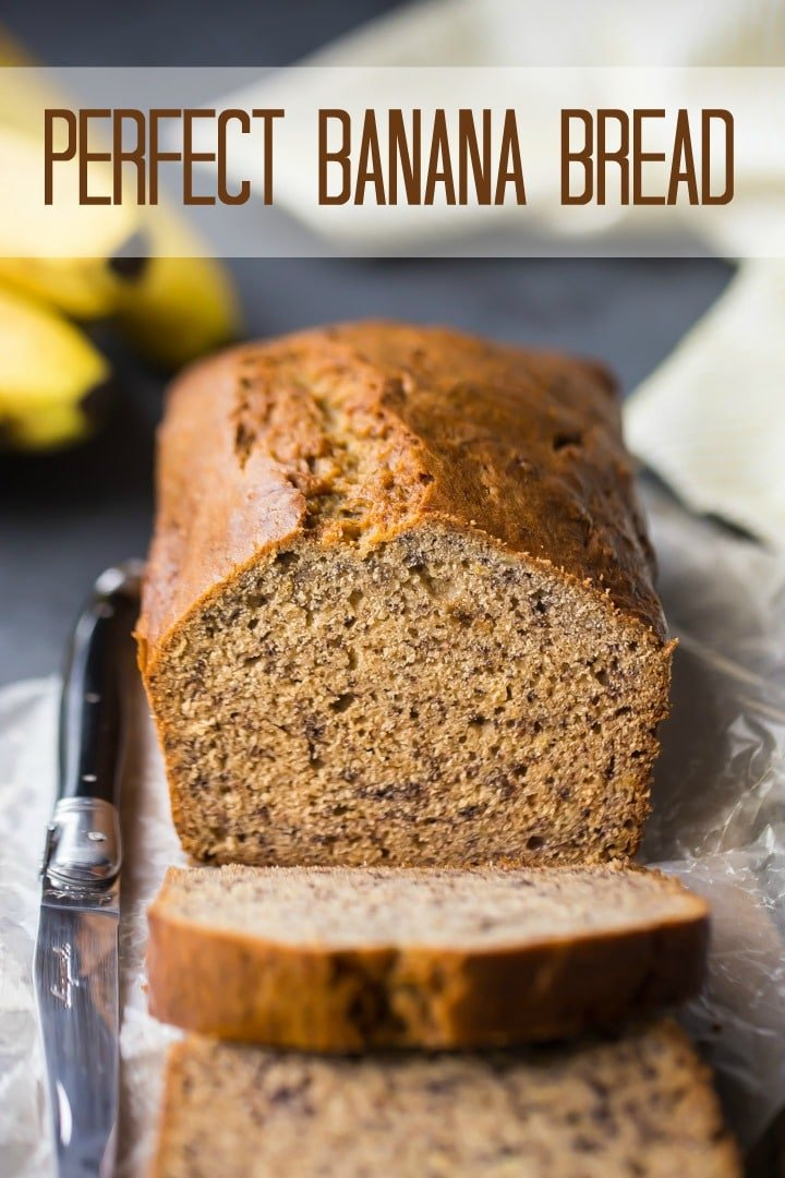 Perfect banana bread moist just sweet enough so easy baking a moist banana bread recipe forumfinder Images