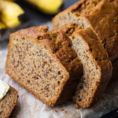 Classic Banana Bread Recipe from Scratch