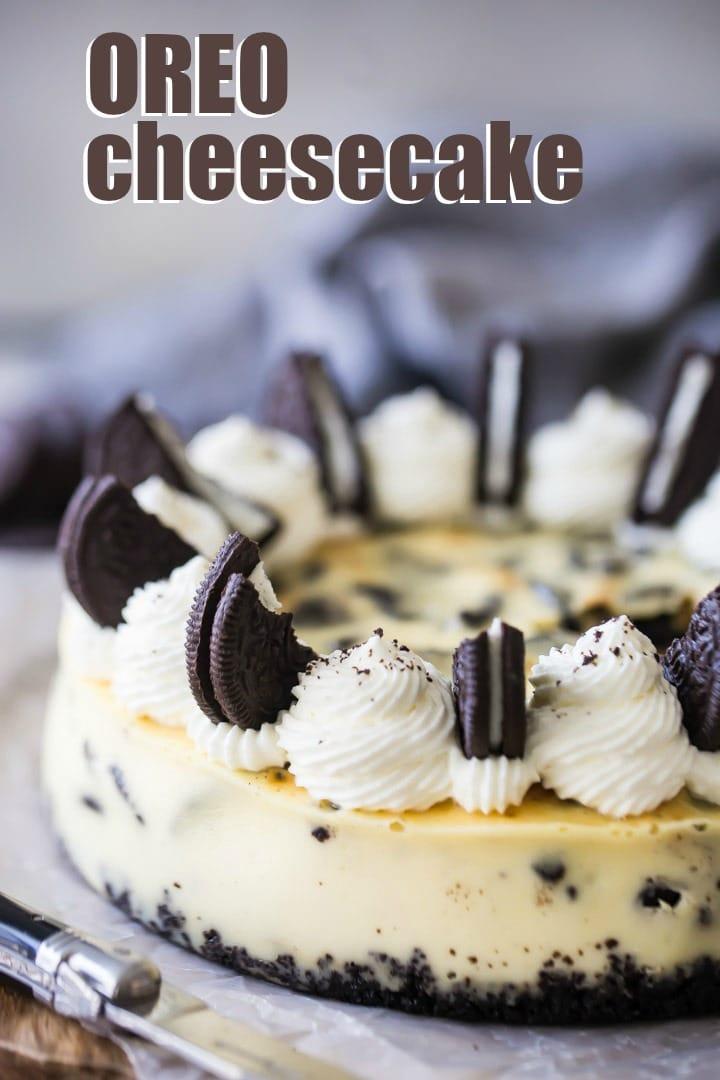 Baked Oreo Cheesecake Recipe