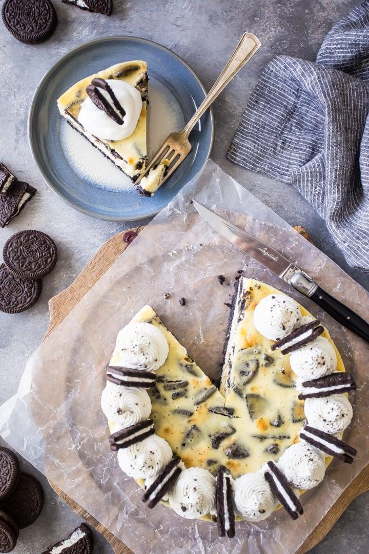 Creamy Oreo Cookies & Cream Cheesecake Recipe
