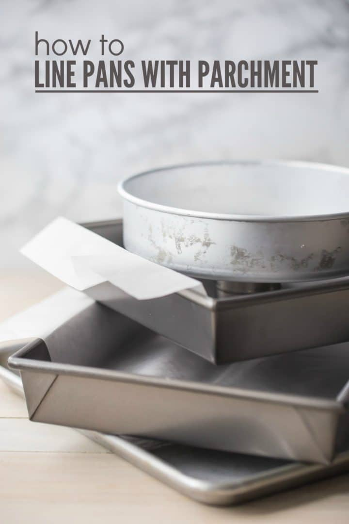 How to Line Baking Pans