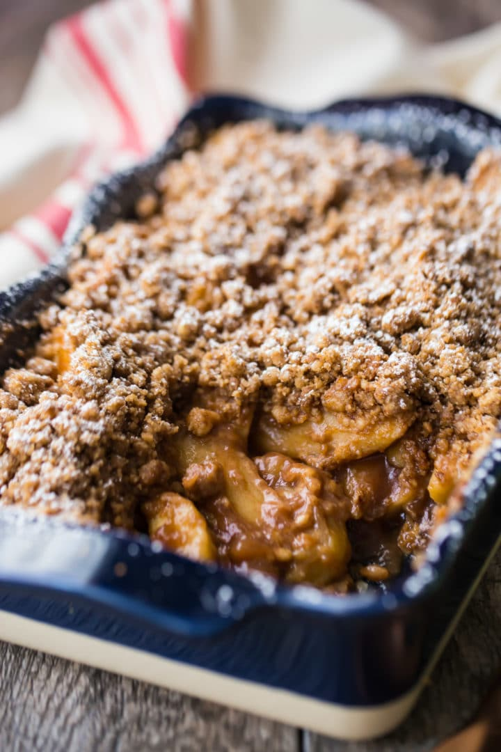 Old-Fashioned Apple Crisp Recipe