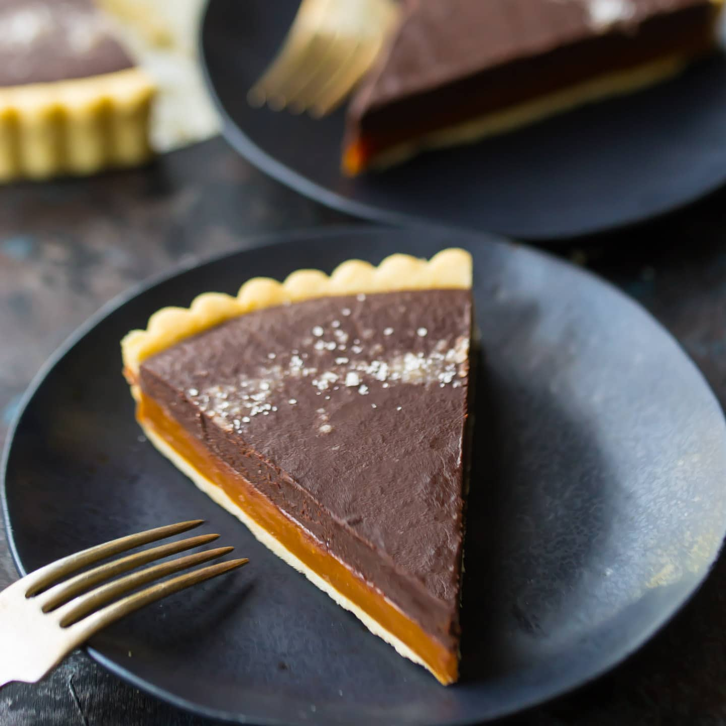Salted Caramel Chocolate Tart Baking A Moment