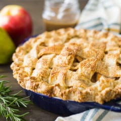 Apple Pear Pie Recipe