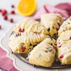 Best Orange Cranberry Scones Recipe