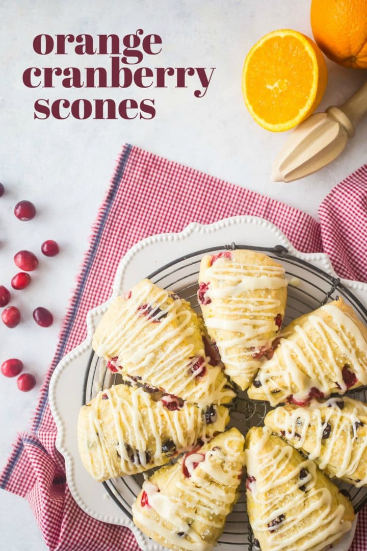 Moist Orange Cranberry Scones Recipe