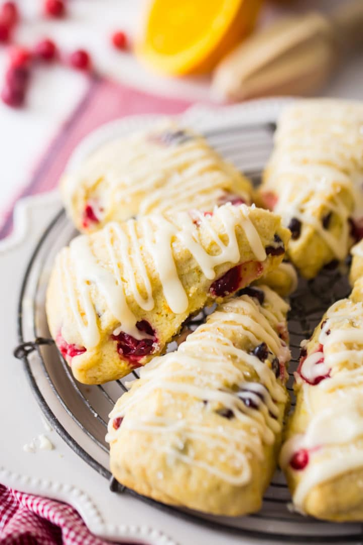 Orange Cranberry Scones Starbucks Recipe
