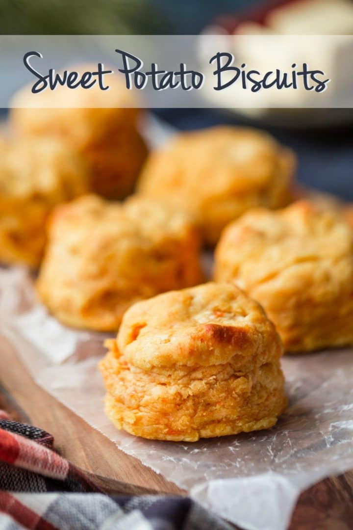 Easy Sweet Potato Biscuits Recipe