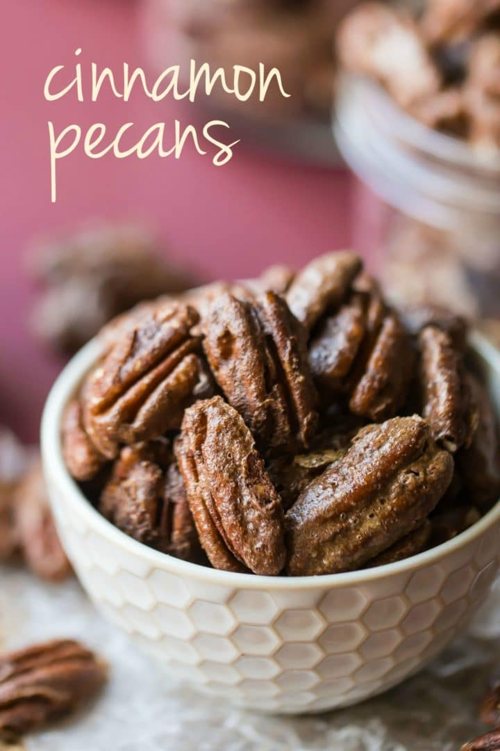 Candied Cinnamon Pecans Recipe