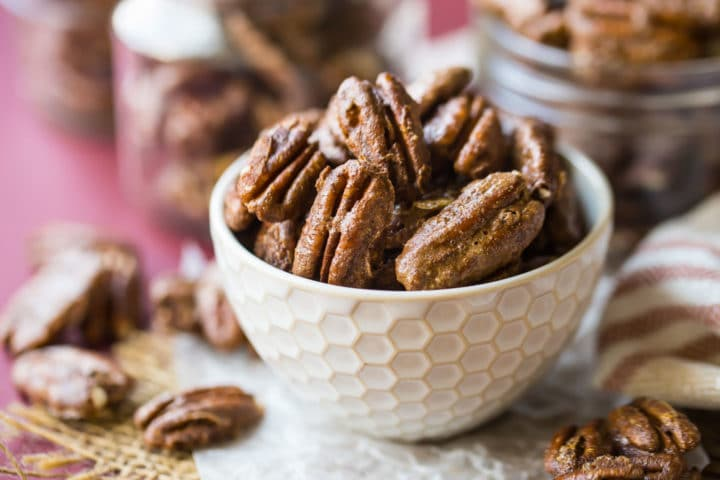 Cinnamon Sugar Glazed Pecans Recipe