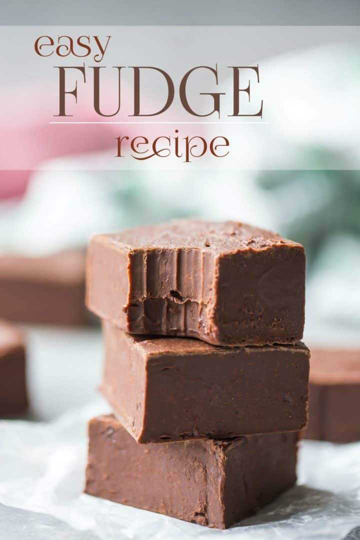 Best Chocolate Fudge Recipe