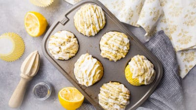 Best Lemon Poppy Seed Muffins