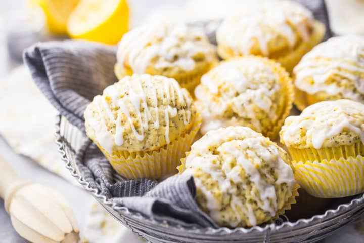 How to Make Homemade Lemon Poppy Seed Muffins