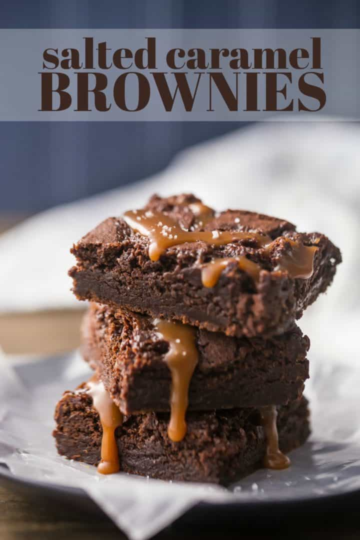 Easy Salted Caramel Brownies Recipe