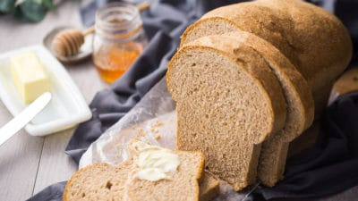 Soft Whole Wheat Sandwich Bread Recipe