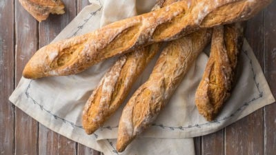 French Baguette Recipe by Hand